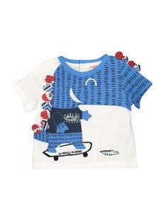 Tee-shirt à manches courtes bébé garçon FUTOTI2 / 19SG10L2TMC000