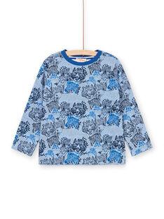 Tee Shirt Manches Longues Bleu LOBLETEE1 / 21S902J1TMLC208