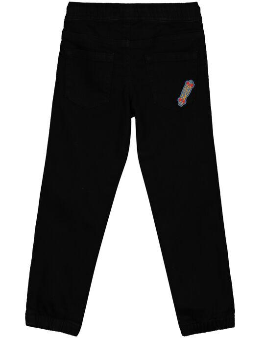 Pantalon Noir extensible GOBLEPAN1 / 19W90291PAN090