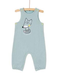 Salopette longue bleue bébé garçon KUBOSAL1 / 20WG10N1SAL219