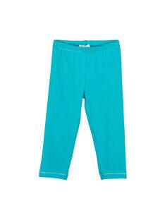 Legging bleu fille FYAJOLEG8 / 19SI01G2D26202