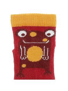 Chaussettes animaux bébé garçon CYUJOCHO10A / 18SI10S7SOQ502