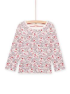 Tee Shirt Manches Longues Ecru MAFUNTEE1 / 21W901M1TML001