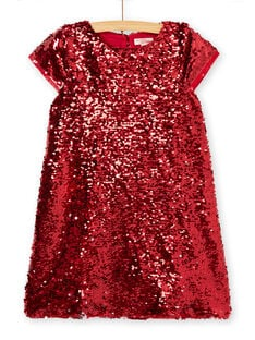 Robe manches courtes en sequins réversibles KANOROB4 / 20W901Q4ROBF529