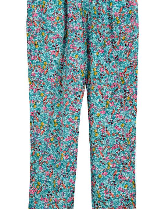 Pantalon imprimé fille FACUPANT / 19S901N1PAN000