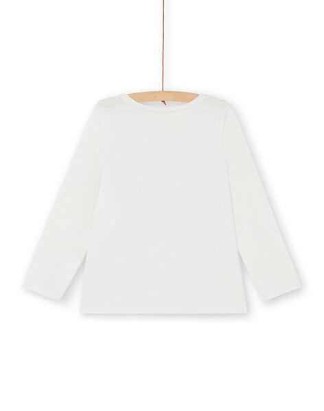 Tee Shirt Manches Longues Ecru LAJOTEE3 / 21S90132D32001