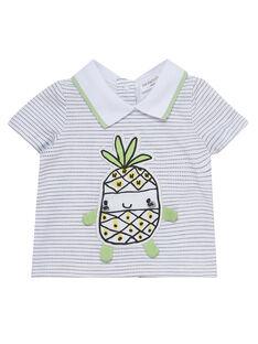 Tee Shirt Manches Courtes Blanc JOU2TI1 / 20SF04M1TMC000