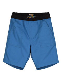 Bermuda en Sergé Bleu vif GOBLEBER / 19W90292BERC232