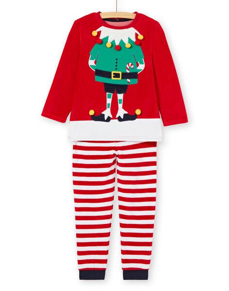 Pyjama Rouge KEGOPYJNOLU / 20WH12R2PYJ050