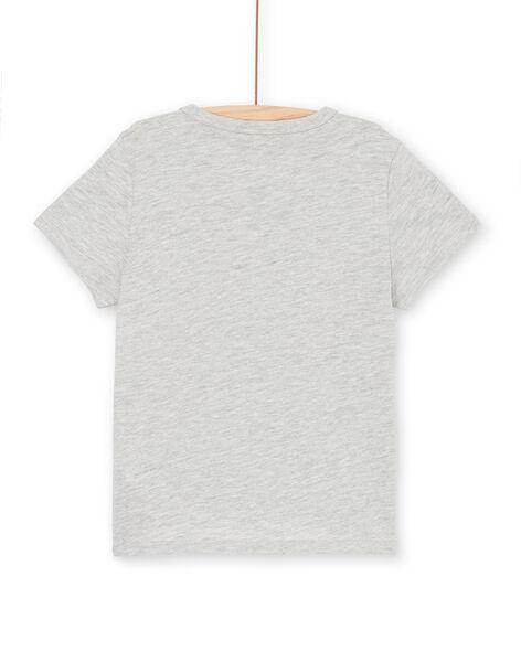 Tee Shirt Manches Courtes Gris LONAUTI3 / 21S902P1TMCJ922