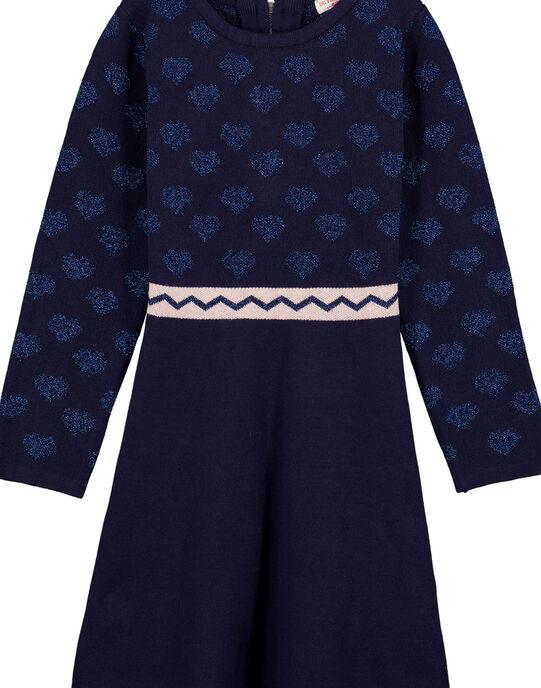 robre tricot jacquard lurex  GATRIROB3 / 19W901J2ROB070