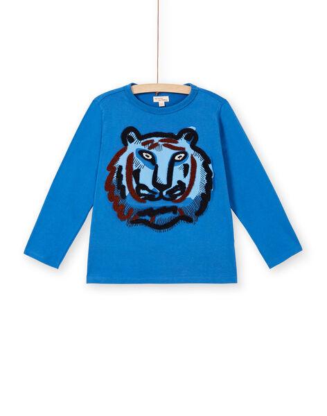 Tee Shirt Manches Longues Bleu LOBLETEE2 / 21S902J3TML702