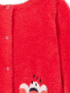 Pull / Cardigan en maille plume à manches longues LAROUCAR / 21S901K1PULF517