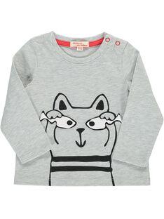 Tee-shirt manches longues fantaisie bébé garçon DUJOTEE6 / 18WG103ATMLJ908