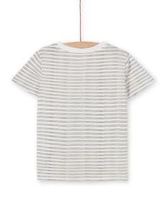 Tee Shirt Manches Courtes Ecru LOTERTI5 / 21S902V1TMC001