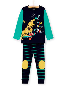 Pyjama enfant garçon motif tigre KEGOPYJSKA / 20WH12B3PYJ705