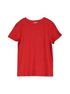 Tee-shirt manches courtes garçon FOJOUNITI3 / 19S902Y3D31F505
