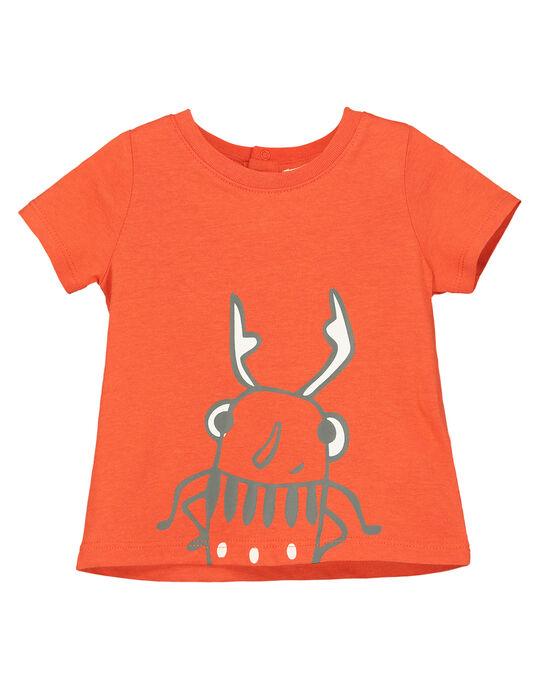 Tee-shirt manches courtes bébé garçon FUJOTI9 / 19SG10G4TMC400
