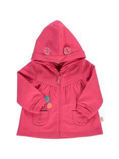 Gilet de jogging à capuche bébé fille CIJOJOH2 / 18SG09R2JGHF503