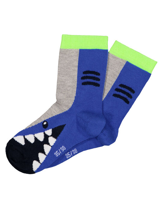 """Chaussettes motif """"requin""""  GYOBLACHO / 19WI02S1SOQC209"""