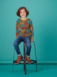 Tee shirt réversible enfant garçon KOBRITEE5 / 20W902F4TMLB118