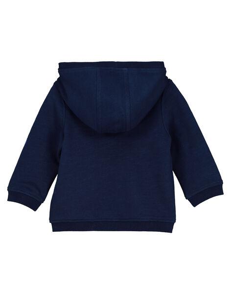 Sweat zippé à capuche bébé garçon FUBAGIL / 19SG1061GIL099