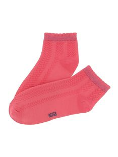 Chaussettes basses fille CYAJOCHO6A / 18SI01RDSOQD312