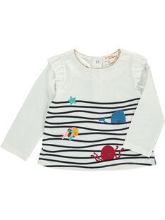 Tee-shirt manches longues bébé fille DINAUTEE / 18WG09G1TML001