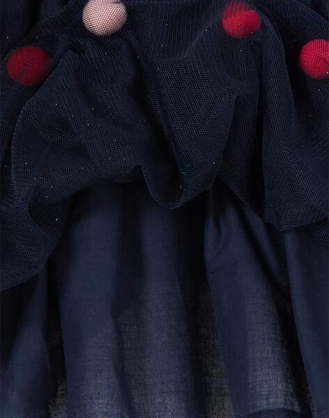 Jupe en tulle à pompoms et sequins KANOJUP2 / 20W901Q2JUP070