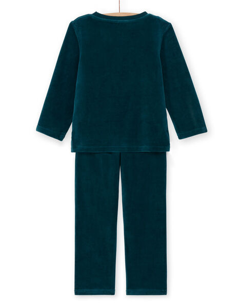 Pyjama enfant garçon imprimé dinosaure KEGOPYJROAR / 20WH12I2PYJJ920