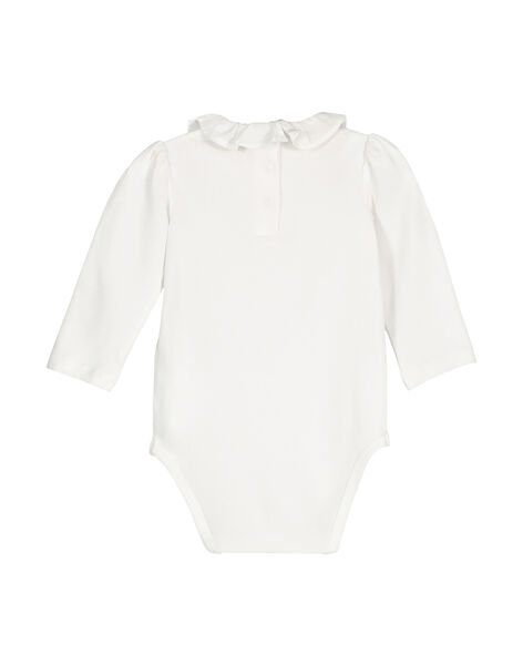 Body manches longues bébé fille FOU1BOD8 / 19SF051EBOD000