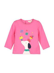 Tee-shirt manches longues bébé fille FICOTEE / 19SG0981TML030