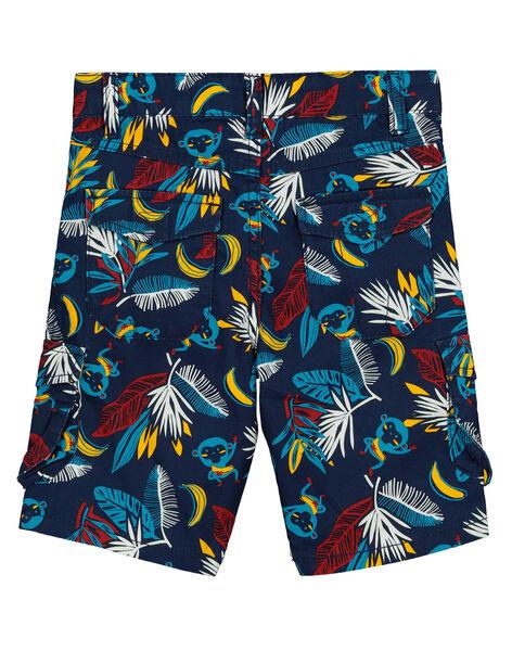 Bermuda fantaisie à poches garçon FOTUBER5 / 19S902F5BER070