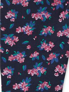 Pantalon Bleu nuit LAJOPANT1 / 21S90133D2BC205