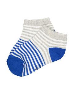 Chaussettes rayées garçon FYOJOCHO8A / 19SI02G5SOQ701