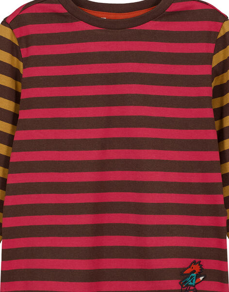 Tshirt Rayé Manches longues GOBRUTEE3 / 19W902K4TML816