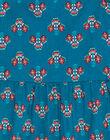 Robe à bretelle volantée, imprimé fleurie  JAJOSROB3 / 20S901T2ROBG633