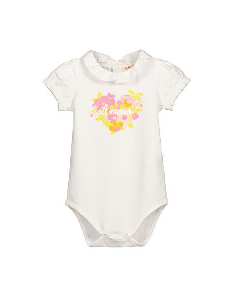 Body manches courtes bébé fille FIPOBOD / 19SG09C1BOD000