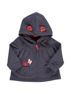 Gilet de jogging à capuche bébé fille CIJOJOH3 / 18SG09R1JGH705
