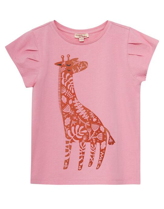Tee Shirt Manches Courtes Rose JAJOTI1 / 20S90142D31D315