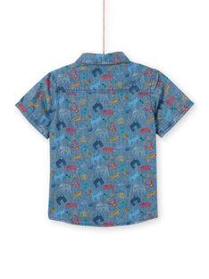 Chemise manche courte - Enfant garçon  LOVICHEM / 21S902U1CHM721