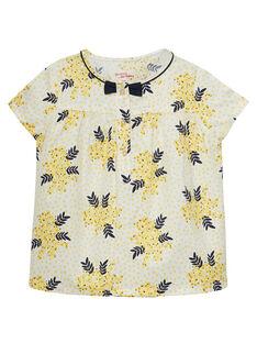 blouse à manche courte imprimé fleurie  JASOCHEM / 20S90181CHE001