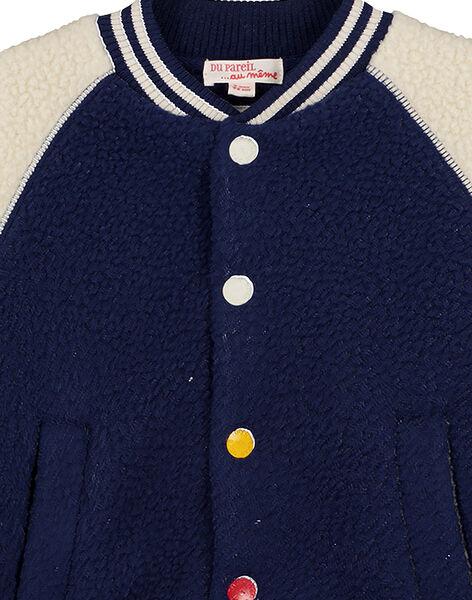Teddy effet mouton Bicolore Marine / Greige GOGROVES1 / 19W90282VES070
