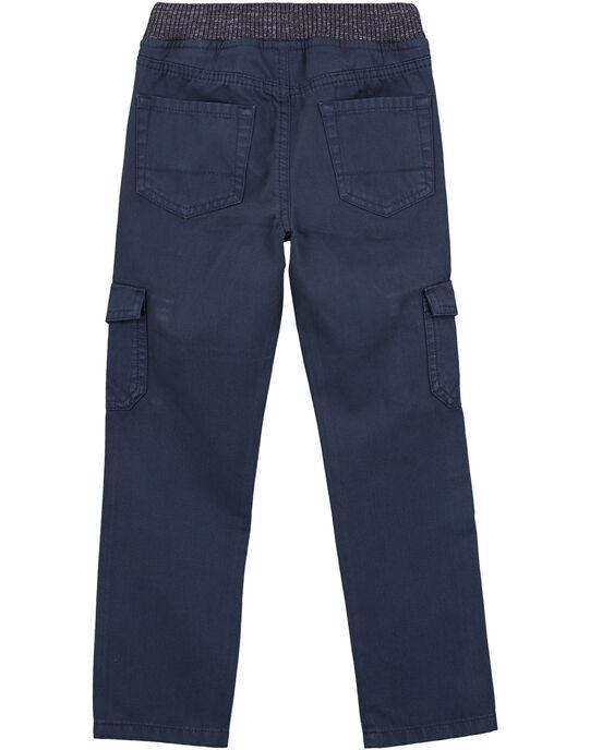 Pantalon Cargo Elastiqué Ardoise GOJOPAMAT3 / 19W90242D2BJ912
