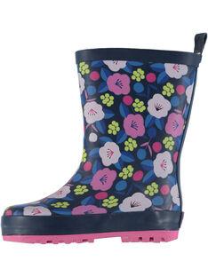 Botte de pluie multicolore à fleurs bébé fille GBFBPBLE / 19WK37G1D0C070