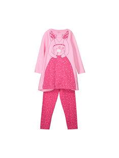 Chemise de nuit avec bandeau fille FEFACHUDE / 19SH1141PYGD301