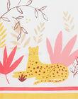 Robe sans manche à imprimé végétal et animalier JADUROB3 / 20S901O2ROB001