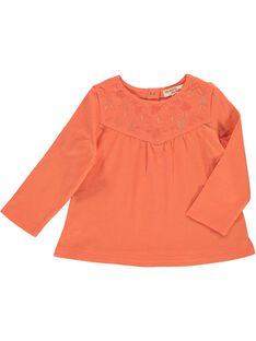Tee-shirt manches longues bébé fille CIJOTEE6B / 18SG09R7TML406