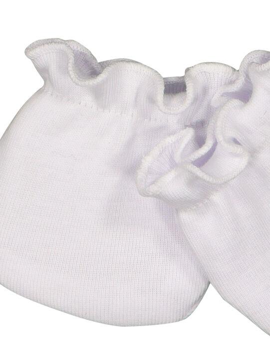 Moufles de naissance bébé mixtes FOU1GAN1M / 19SF4213MFN000