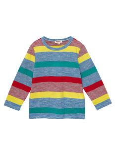 Tee Shirt Manches Longues Bleu JOGRATEE1 / 20S902E2TMLC228